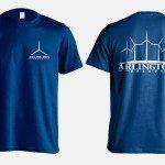 Graphics: Arlington, Oregon T-shirt by Kaseberg Design