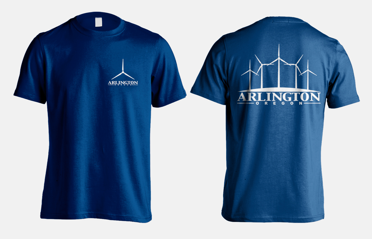 Graphics: Arlington, Oregon T-shirt by Kaseberg Design