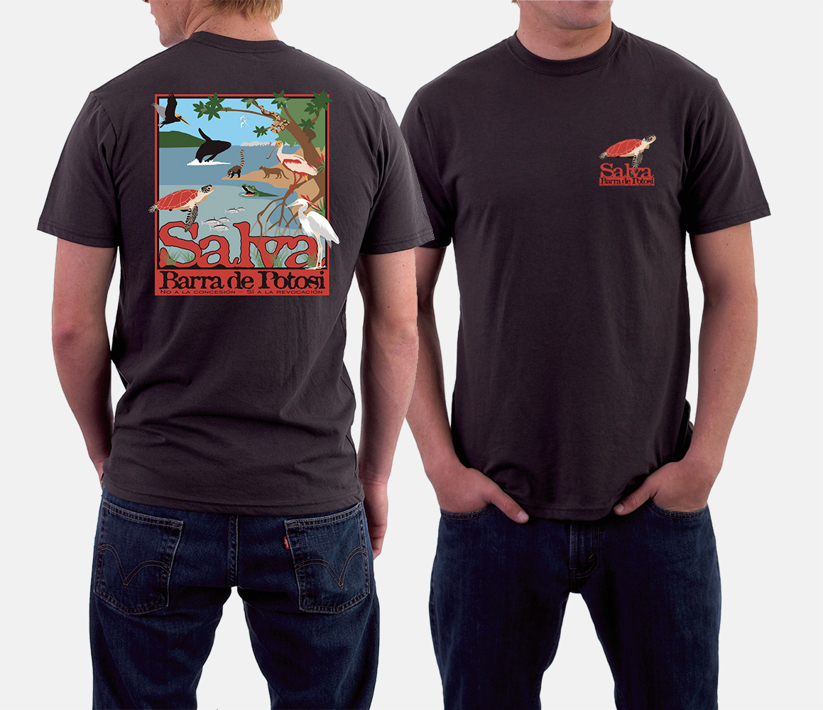 Graphic: Save Potosi T-Shirt by Cameron Kaseberg