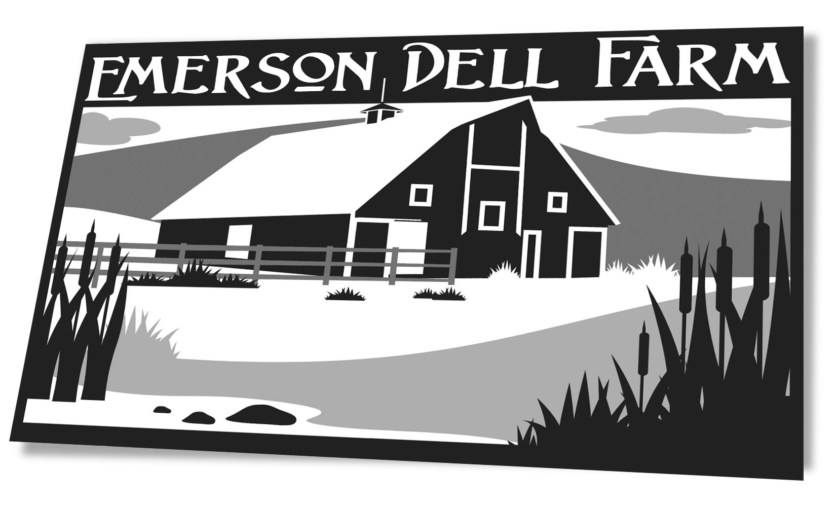 Emerson Dell Farm Illustration