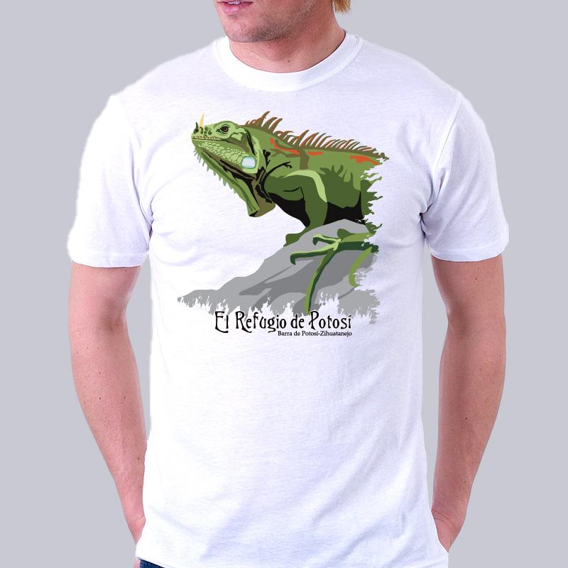 Iguana Tee - El Refugio de Potosi