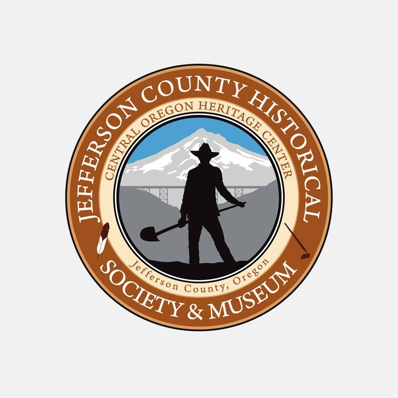Logo design for the Jefferson County Historical Society and Museum – by Kaseberg Design.