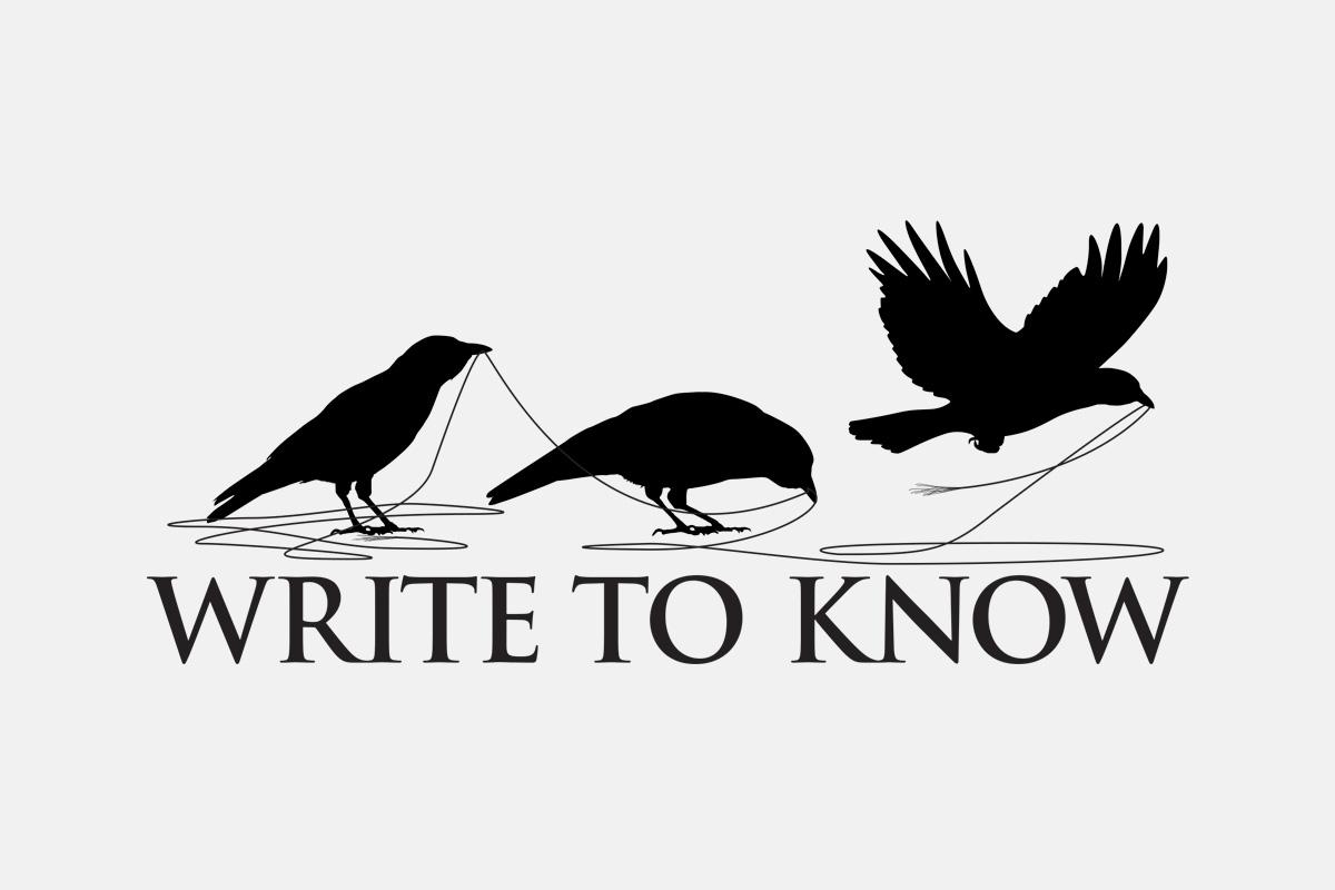 Write to Know - Logo