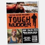 Magazine advertisement for Tough Mudder event, Eastern Oregon Visitor's Association.