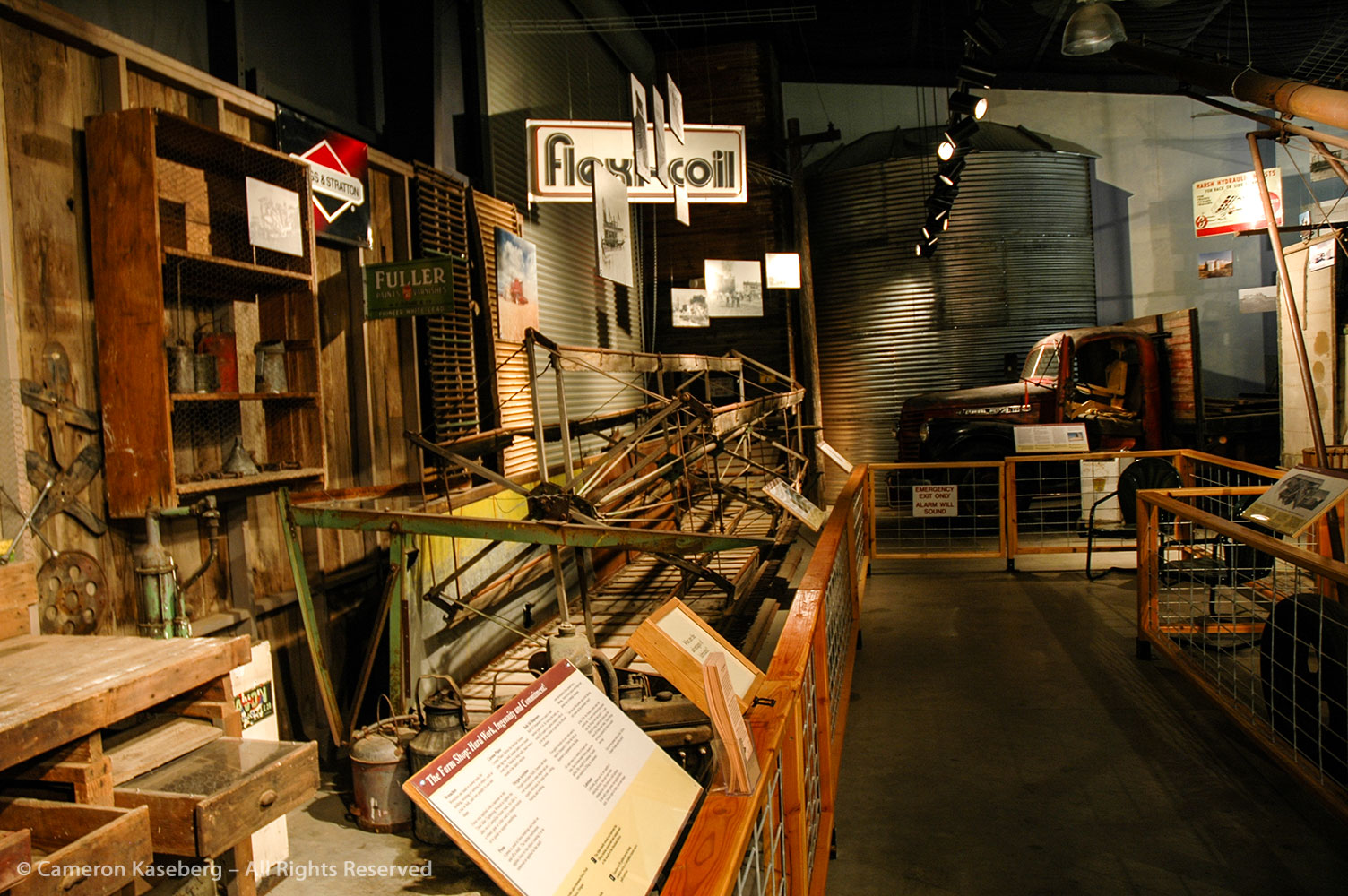 Exhibit Design: Conservation, Cultivation, and Clothespins at the Sherman County Historical Museum