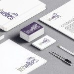 Logo: Logo design and business cards for Just Wellness by Cameron Kaseberg