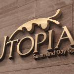 Logo: Logo design for Utopia Salon by Cameron Kaseberg (image mockup)