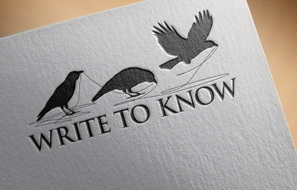Logo: Logo design for Write to Know by Cameron Kaseberg (image mockup)