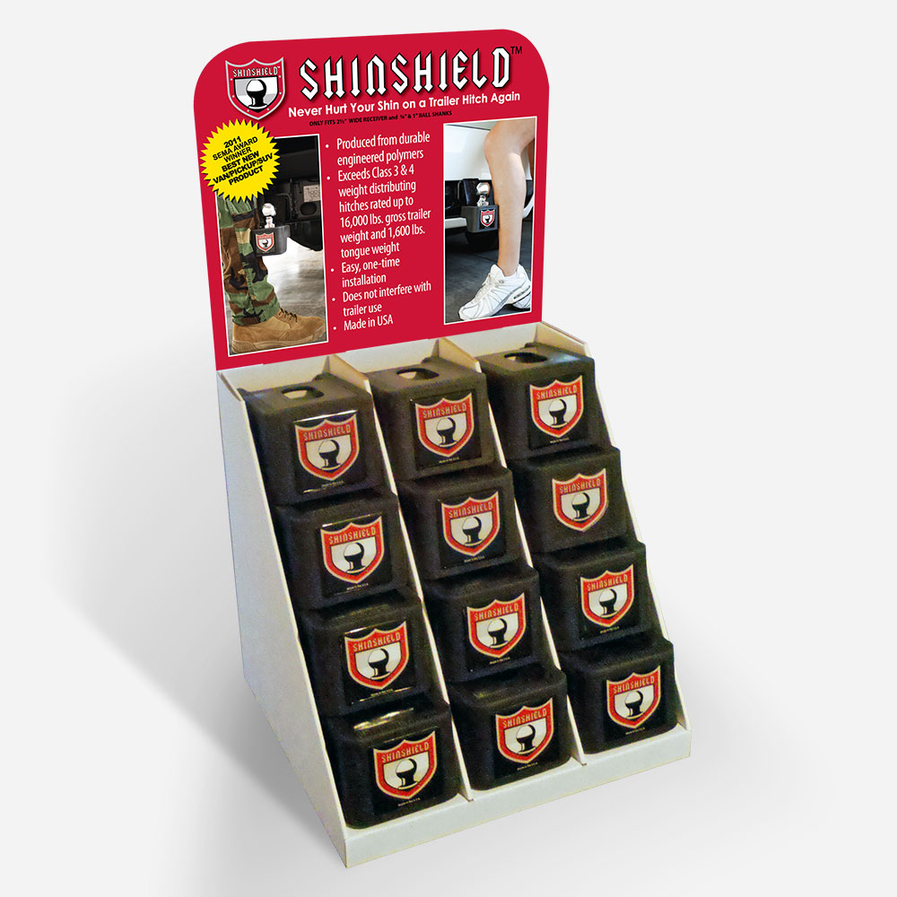 Print: Point-of-Sale header for Shin-Shield by Cameron Kaseberg
