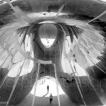 Photo: Inside Cloud Gate by Cameron Kaseberg